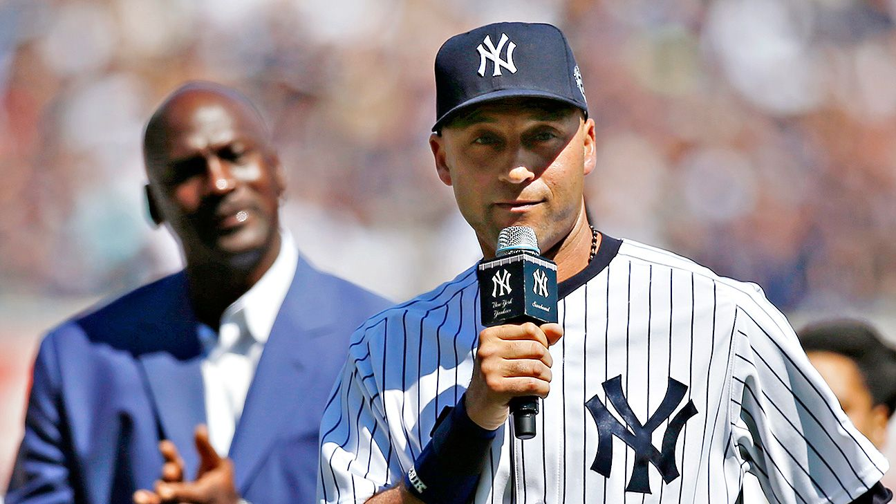 a6a5117373c83f Derek Jeter honored by New York Yankees