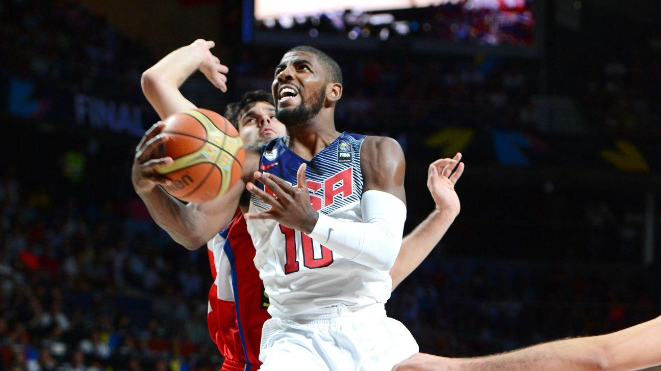 3044bbc829d1 2014 FIBA Basketball World Cup -- U.S. pummels Serbia to win gold medal