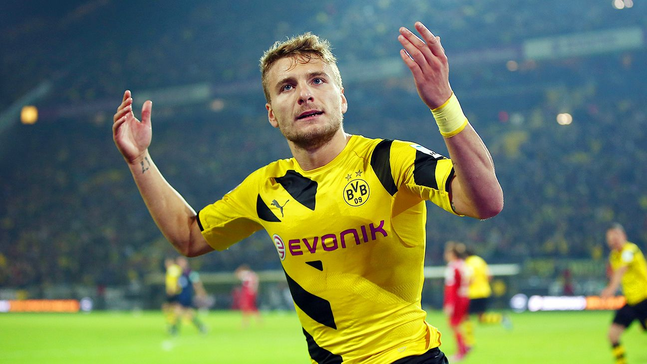 Ciro Immobile rescues point for Borussia Dortmund against Stuttgart