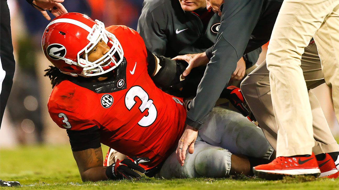 the best attitude d08fa 1dde8 Injury to Georgia Bulldogs running back Todd Gurley should ...