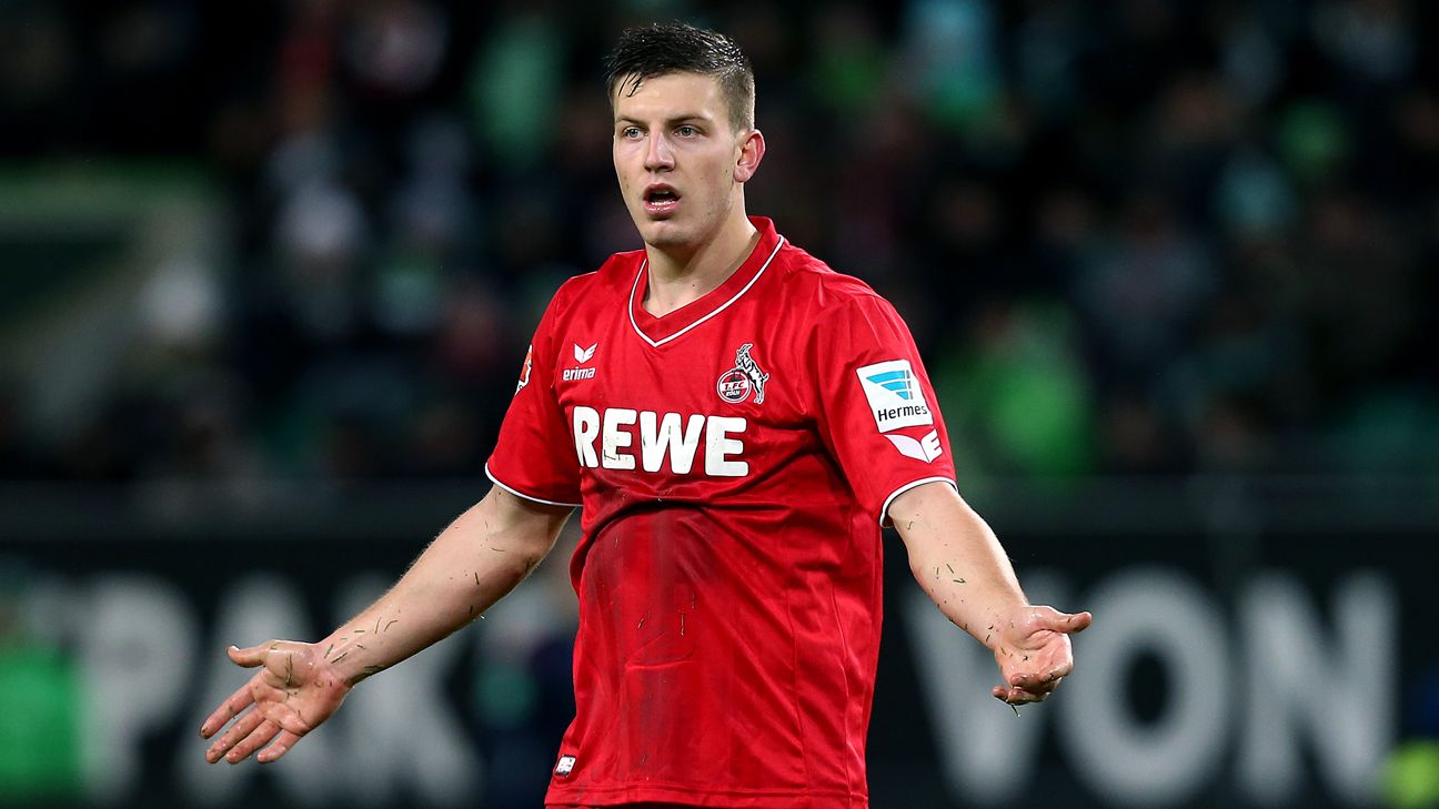 Tottenham To Sign Kevin Wimmer From Cologne In Summer
