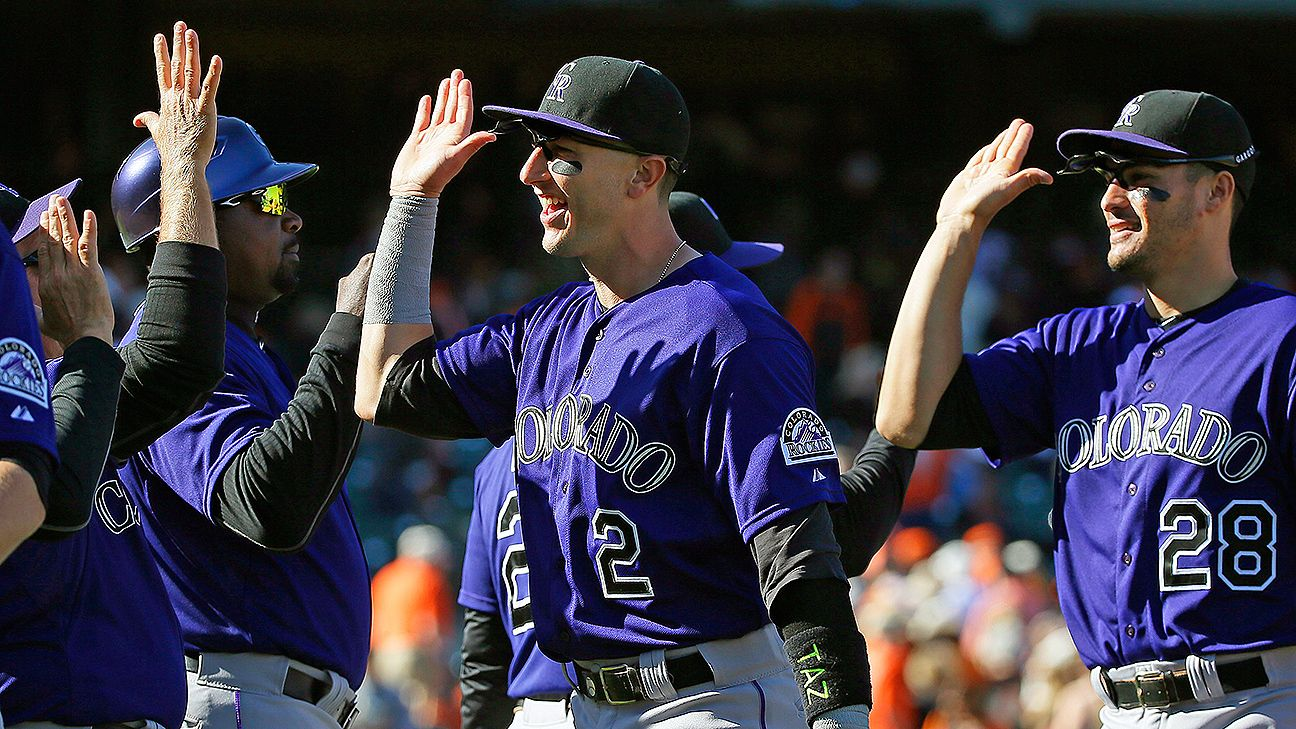 Strange But True Feats: Giants can't win, Rockies can't lose