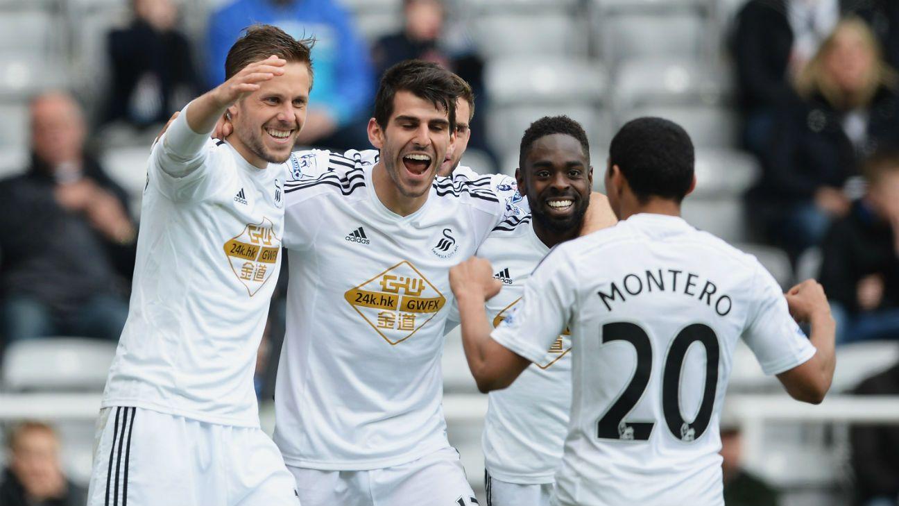 Newcastle United vs. Swansea City - Football Match Report - April 25 ... b01996d8c095c