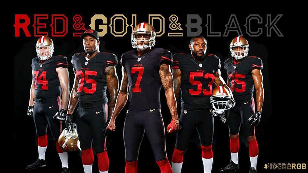 0ae76b666dd How 49ers whiffed on new alternate uniform