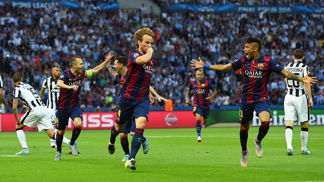 Juventus Vs Barcelona Football Match Report June 6 2015 Espn