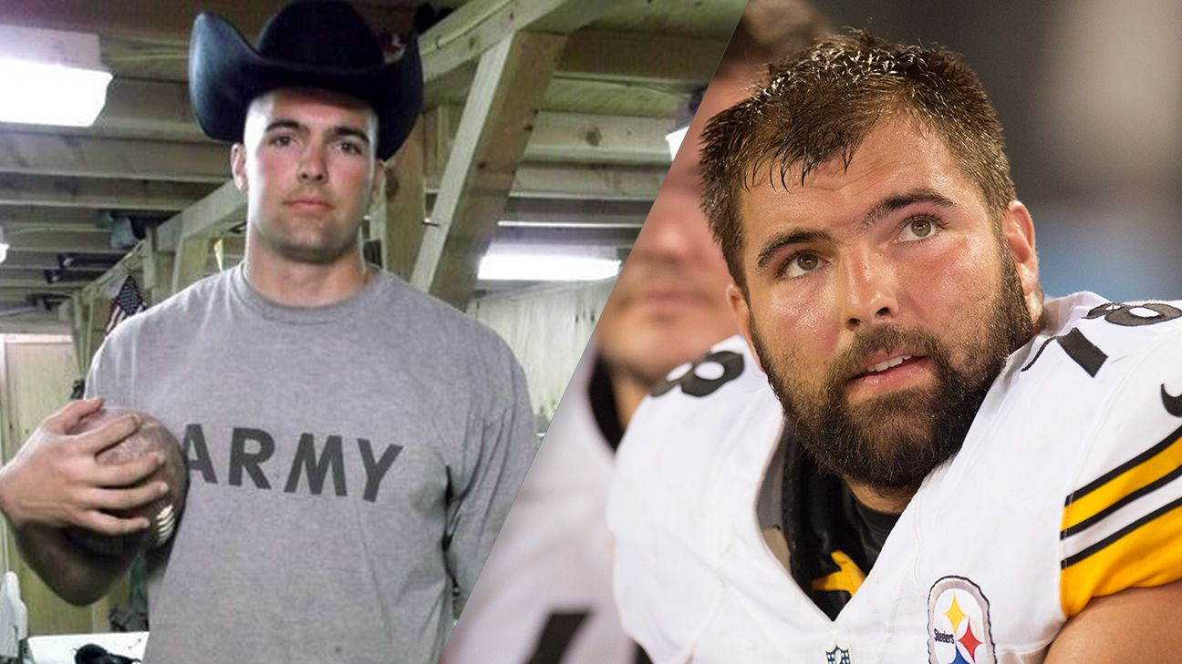 reputable site a479c 349bb Steelers' Alejandro Villanueva nominated for Salute to ...