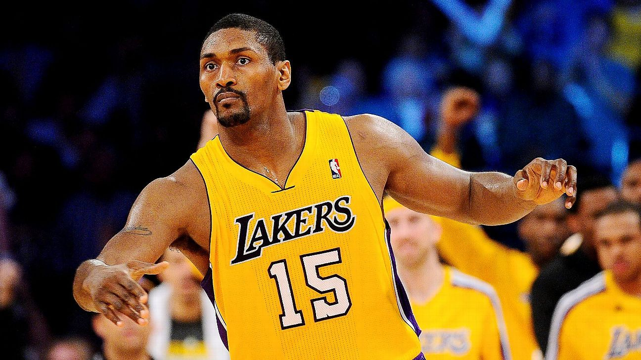 f55bce66b Metta World Peace to be on Los Angeles Lakers roster