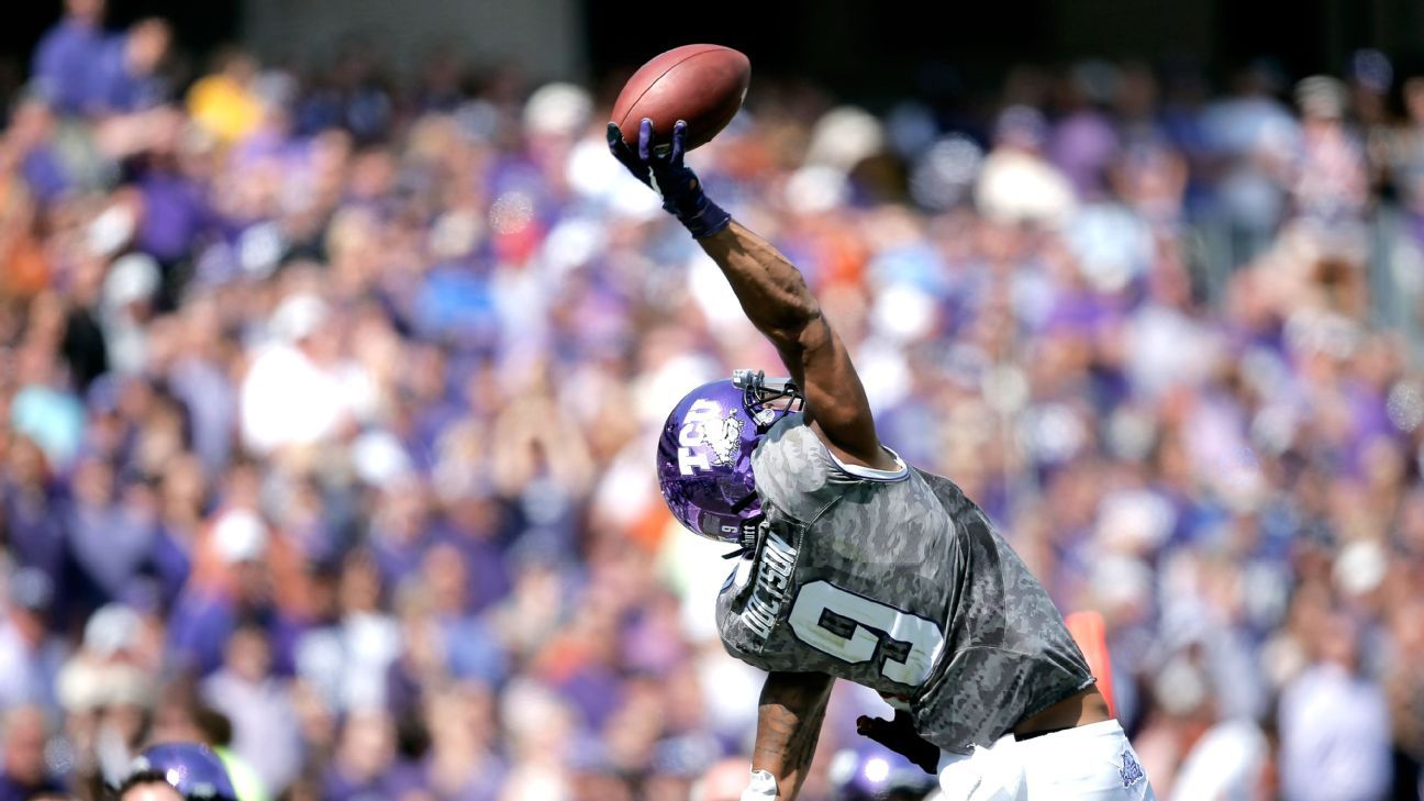 Josh Doctson, TCU Horned Frogs wide receiver, to miss ...