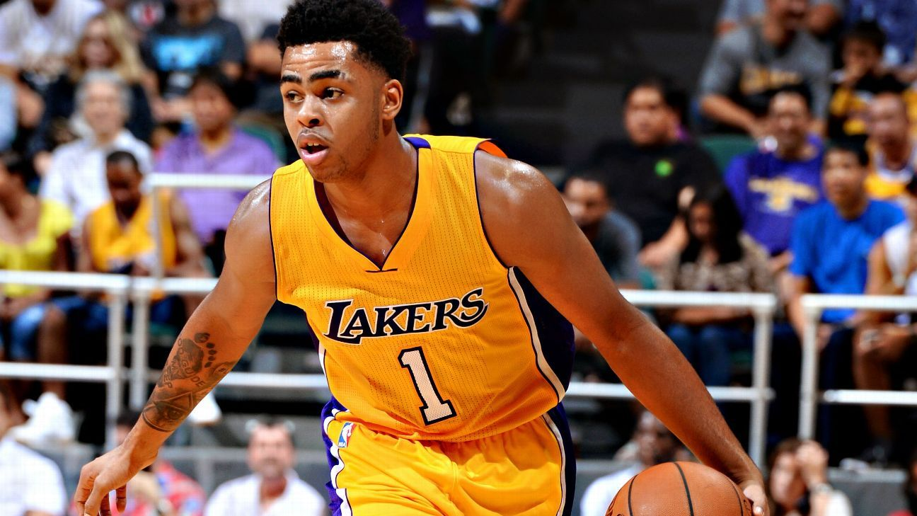 DAngelo Russell at center of Los Angeles Lakers riftLakers
