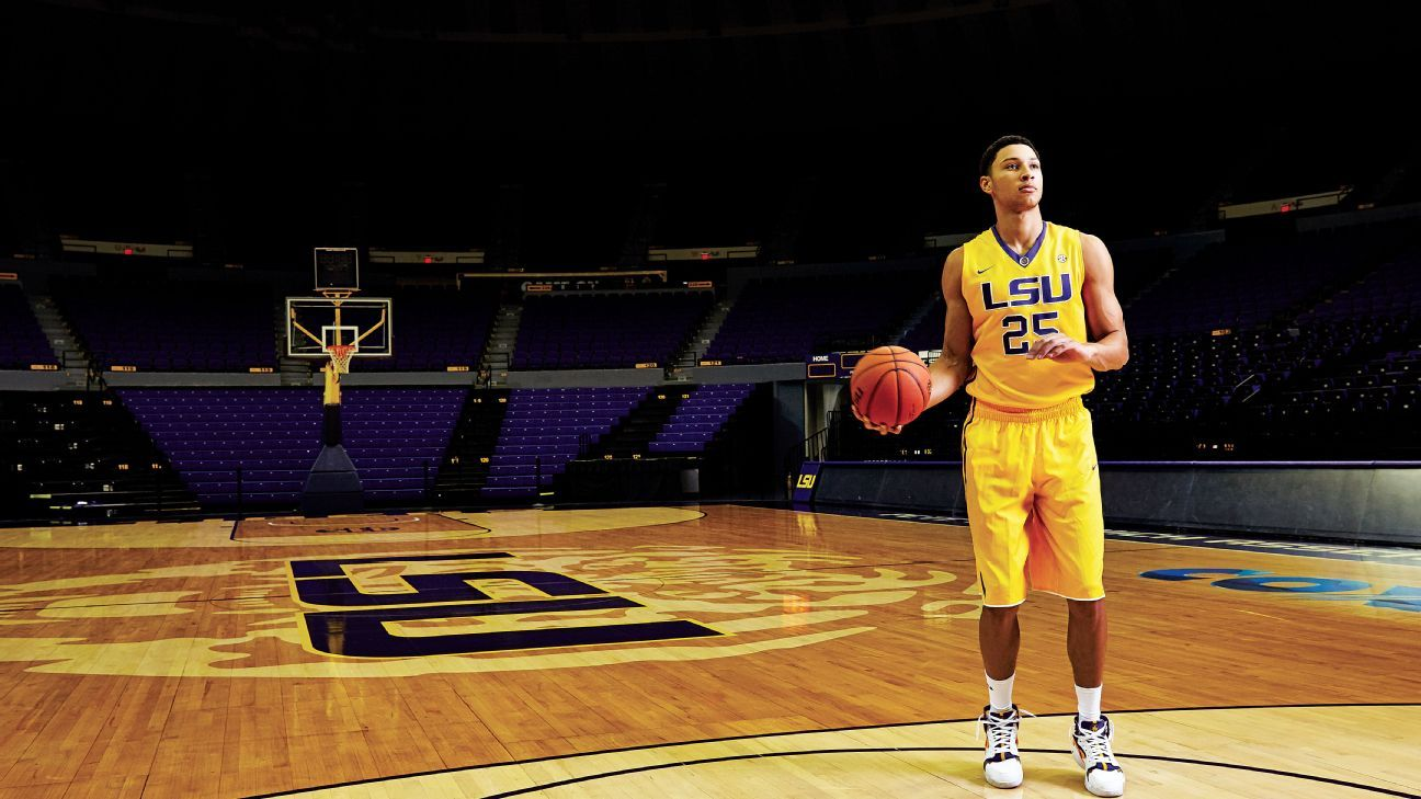 From Melbourne to Baton Rouge, Ben Simmons has arrived at LSU