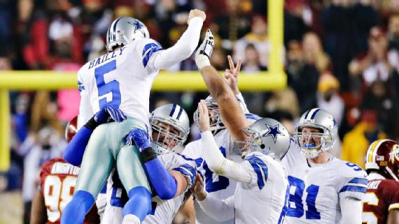 Dallas Cowboys Special Teams Units Were Good But Not Really Special Dallas Cowboys Blog Espn