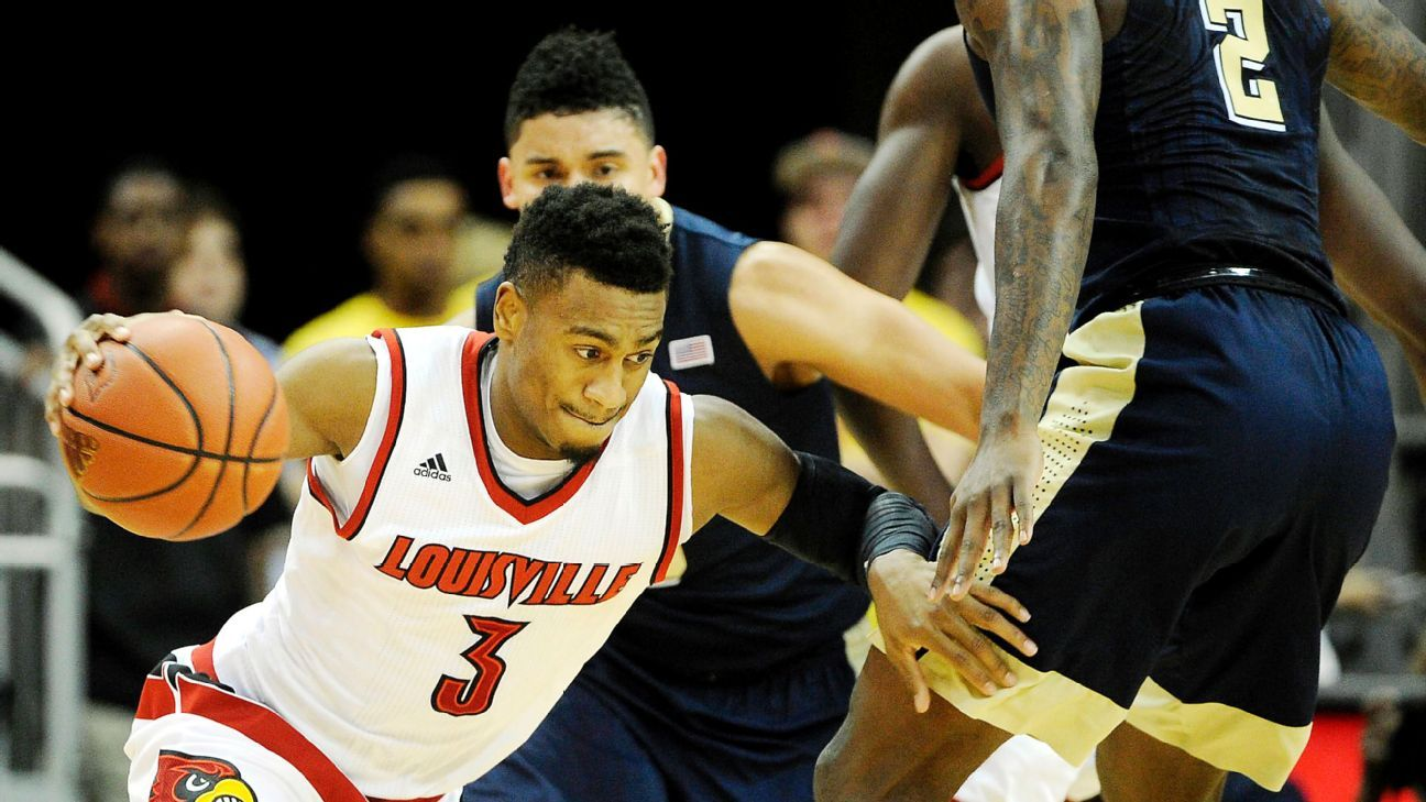 Louisville's Lewis on ban: 'We don't deserve this'