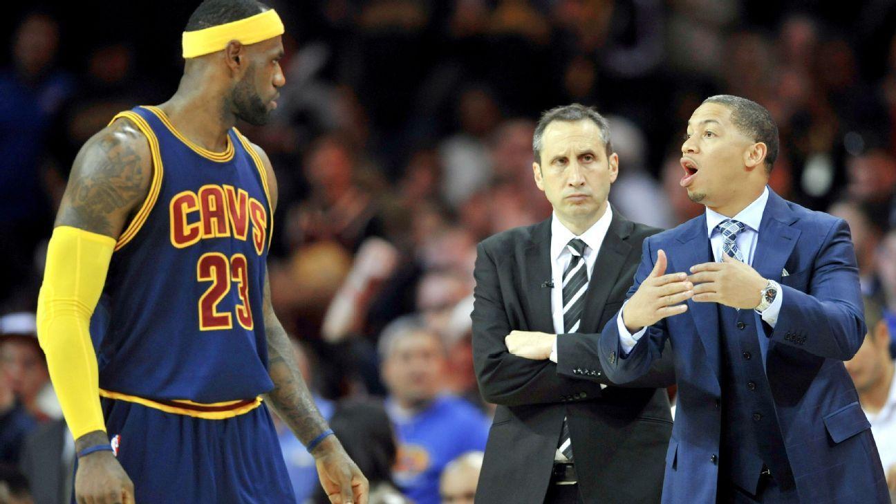 Cleveland Cavaliers head coach Tyronn Lue says he's on ...