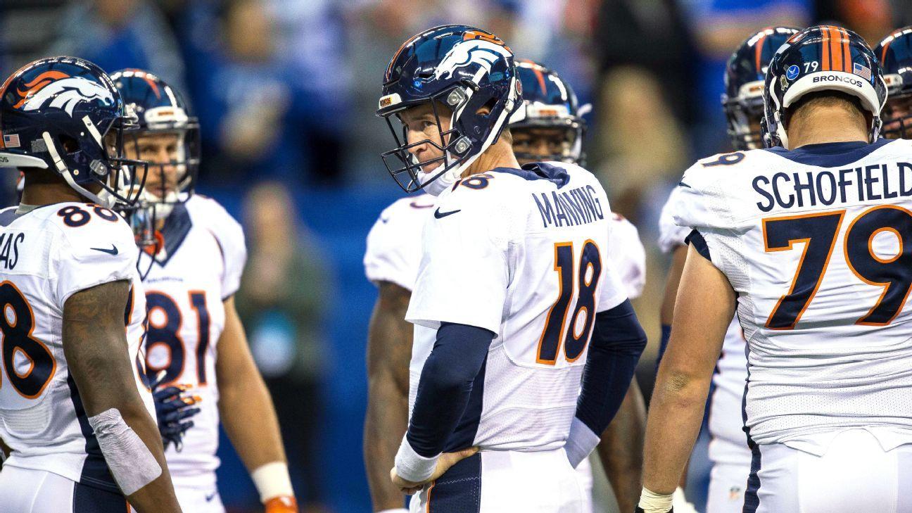 3c84a4f16 Uni Watch -- Denver Broncos will wear white jerseys in Super Bowl 50
