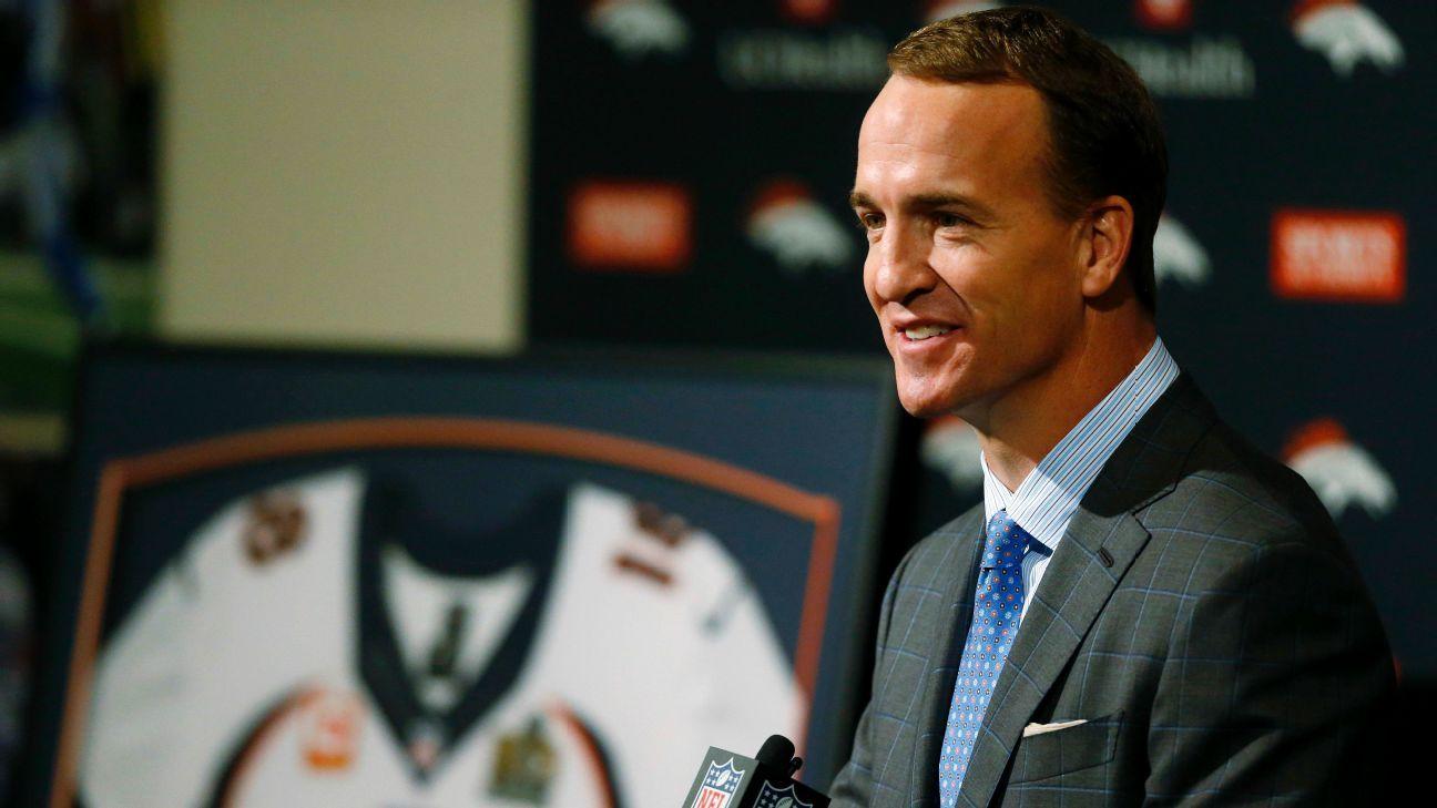 Transcript Of Peyton Mannings Retirement Speech Denver Broncos