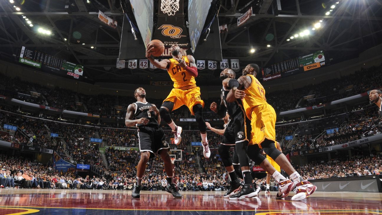 473d60ad34e Kyrie Irving says Cleveland Cavaliers  still the team to beat  despite  eventful month of March