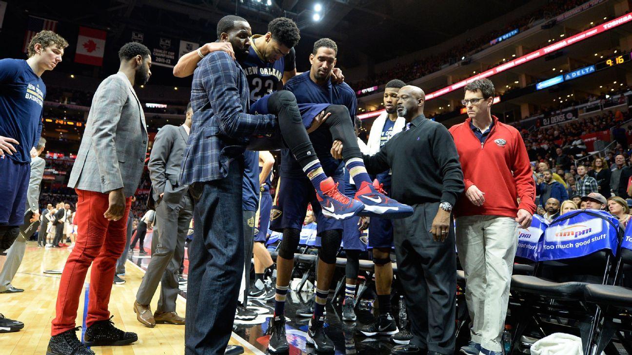 NBA: New Orleans Pelicans' season of injury
