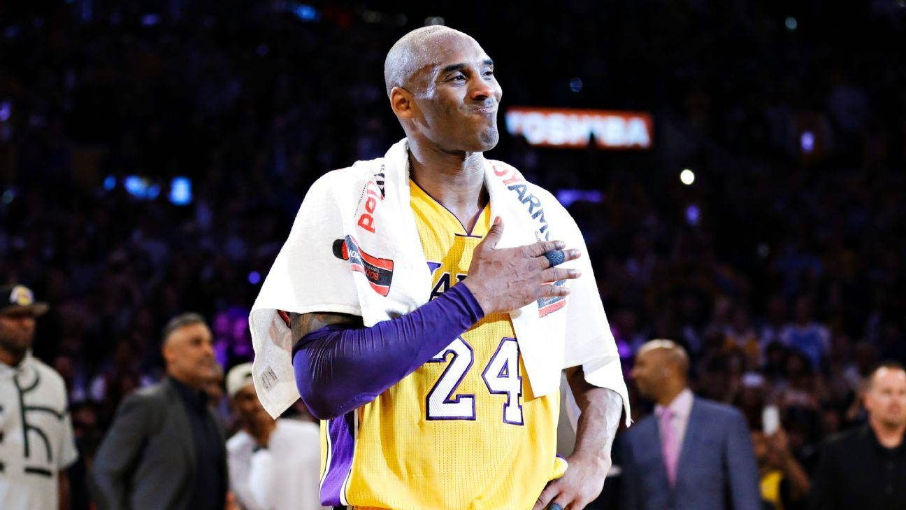 5ba880d4b928 Los Angeles Lakers to retire Kobe Bryant s jersey on Dec. 18 before game  against Golden State Warriors