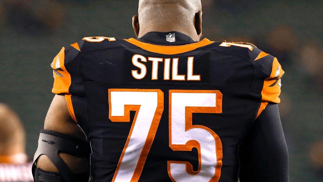 a690c1ff2 Devon Still s old  75  Bengals jersey number given to Andrew Billings -  Cincinnati Bengals Blog- ESPN