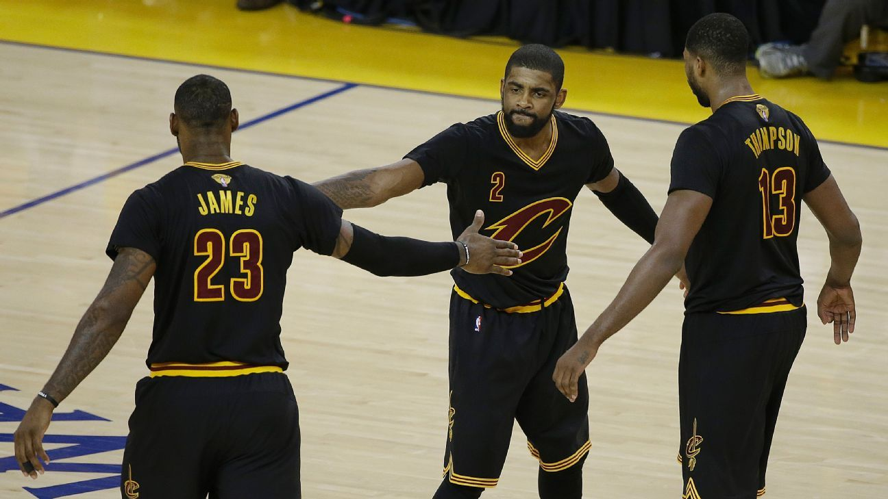 660d9de1e8b LeBron James, Kyrie Irving take over; Cleveland Cavaliers stay alive - Cleveland  Cavaliers Blog- ESPN