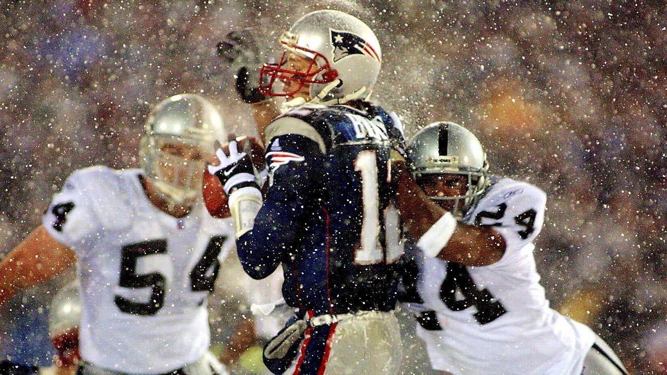 Strip-sack of Tom Brady a curse-lifter for Oakland Raiders  - NFL Nation-  ESPN 3a37a0079
