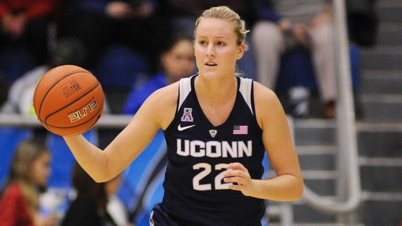 Courtney Ekmark leaving University of Connecticut Huskies for Arizona State Sun Devils