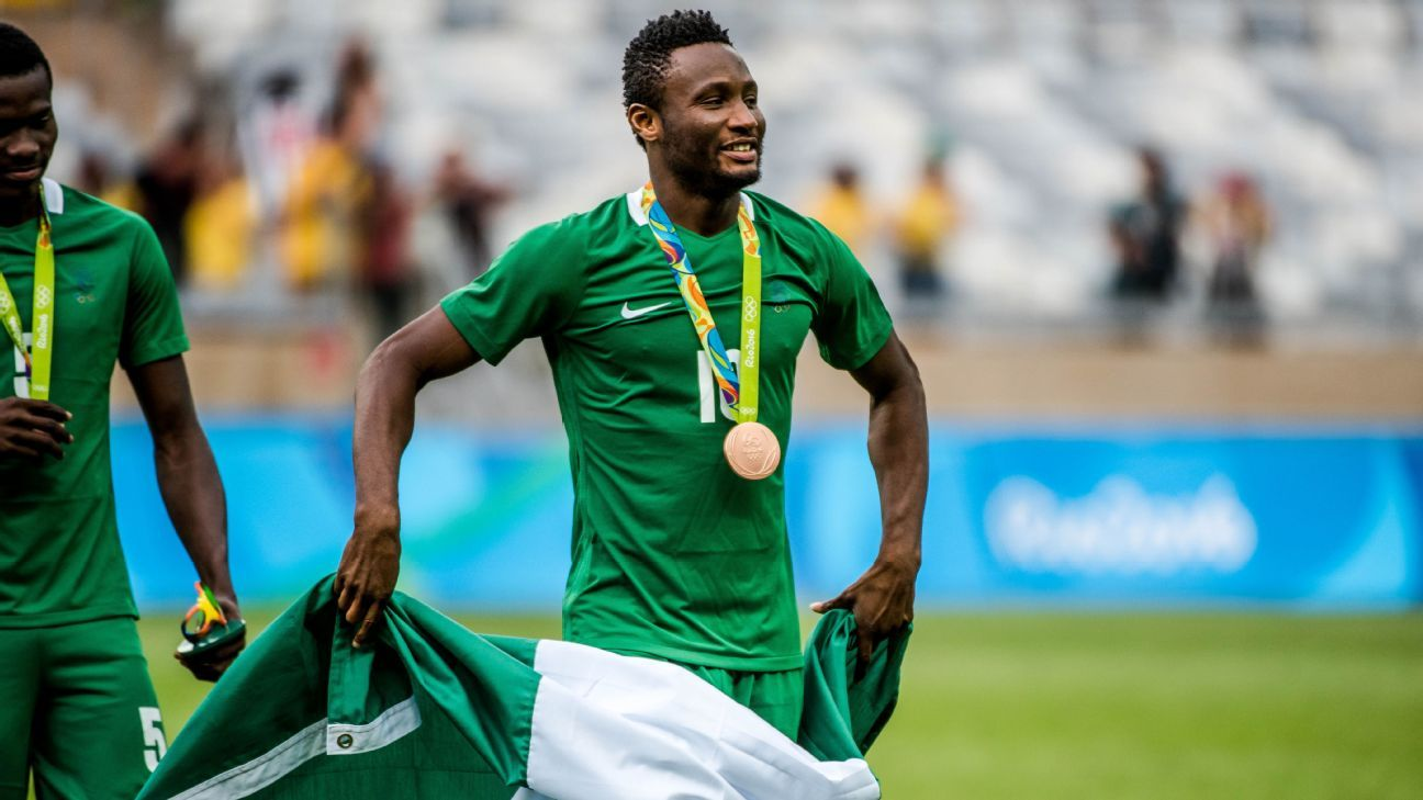 ba983dce540 Absent John Obi Mikel offers support to Super Eagles