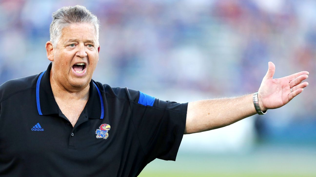 Former Notre Dame And Kansas Football Coach Charlie Weis
