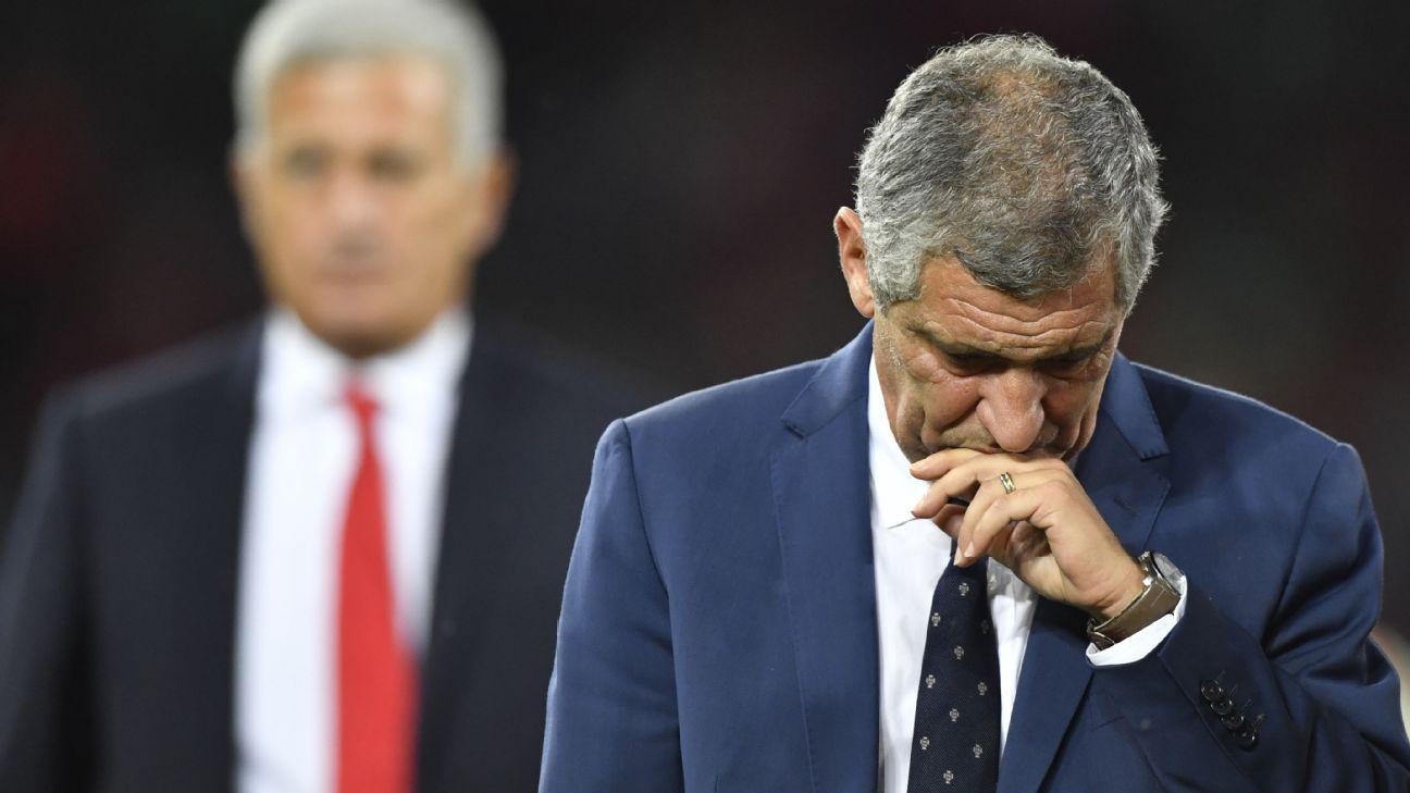 Santos: Portugal thrashing was my fault