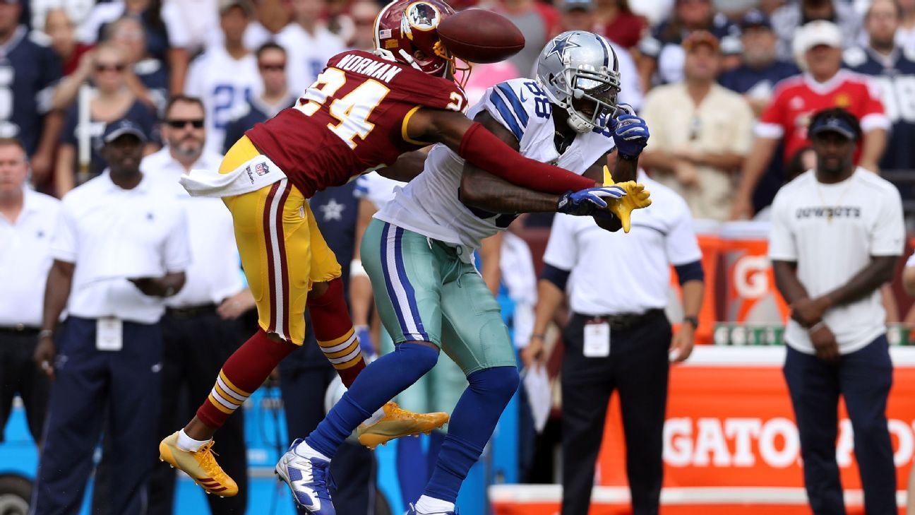 Redskins Switch Tactics Late Use Josh Norman To Cover Dez
