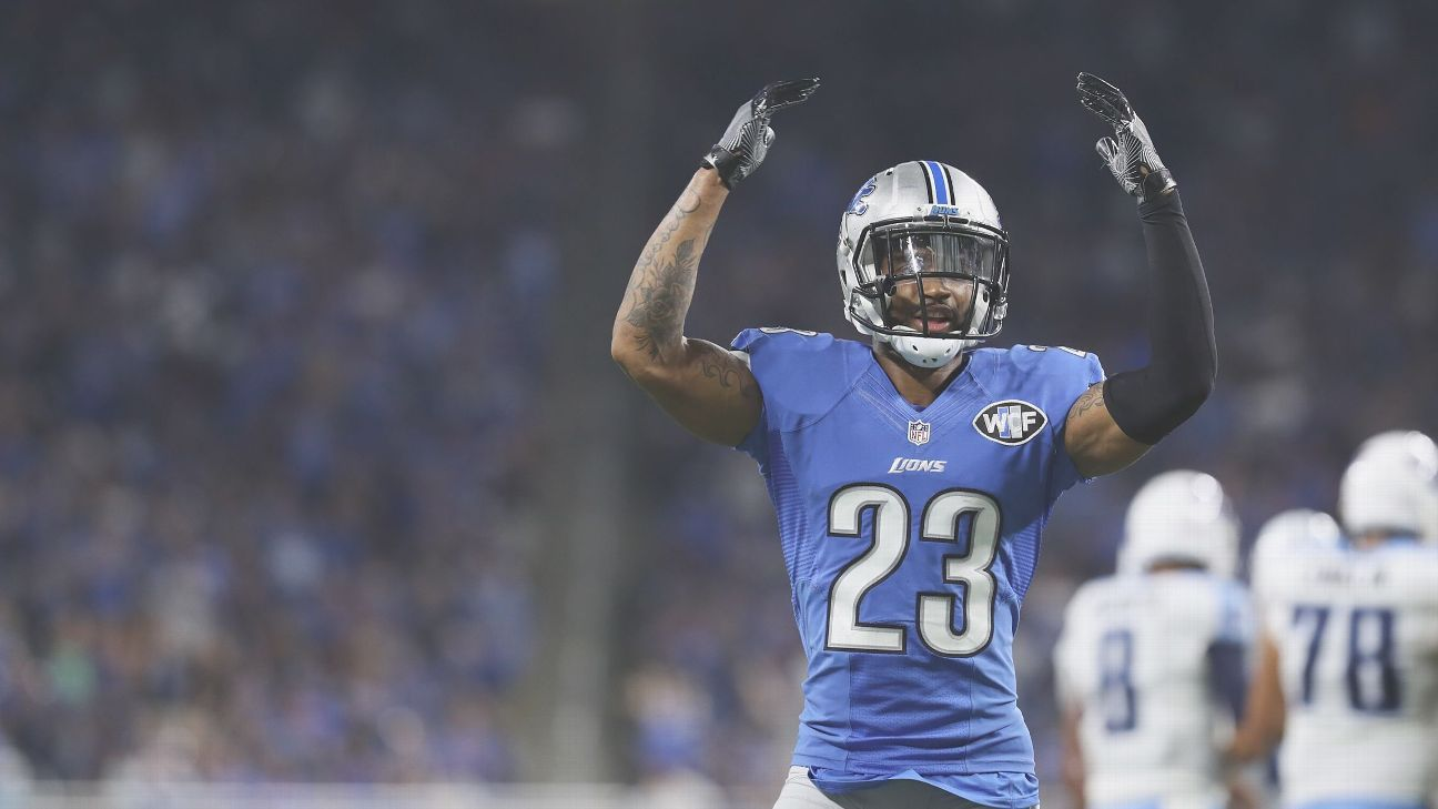 best loved 4e01a c75c9 Darius Slay of Detroit Lions -- Pro Bowl 'pointless' after ...