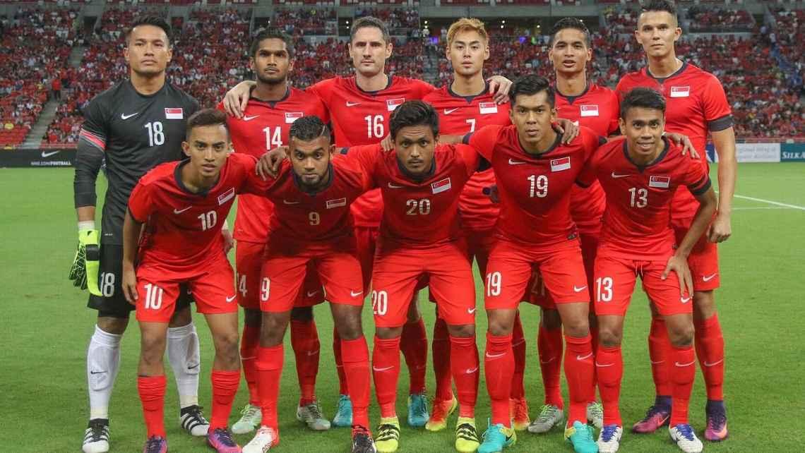 サッカーシンガポール代表の写真