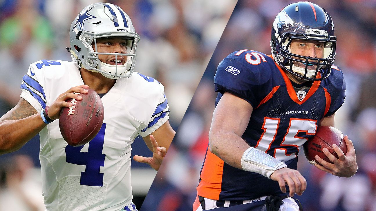 He s not Tebow. He s not Brady. But the Dallas Cowboys QB Dak Prescott  comparisons will continue - 2016 NFL e876a0d8e
