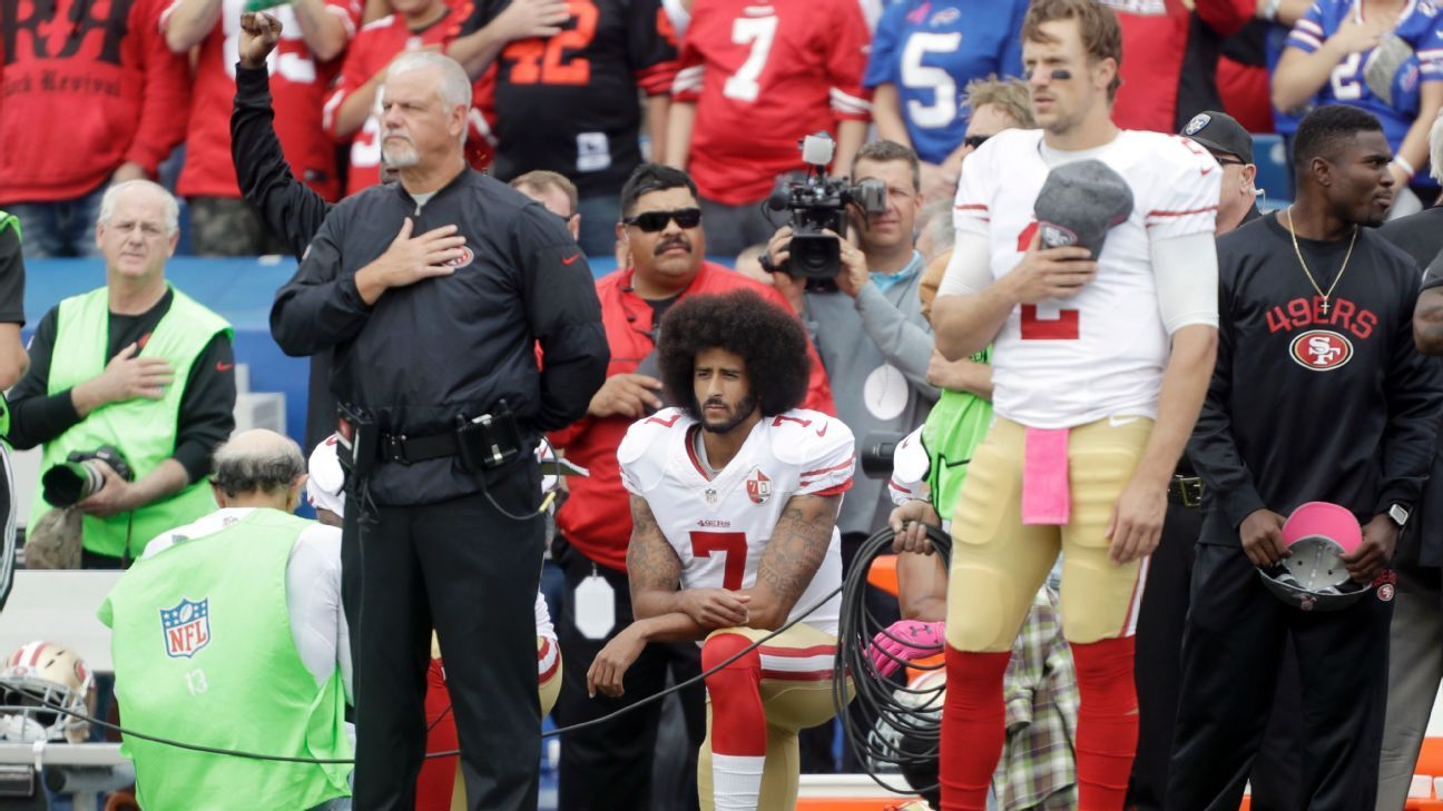0496927f04334 NFL players who protested during the national anthem in Week 6 2016 - NFL  Nation- ESPN