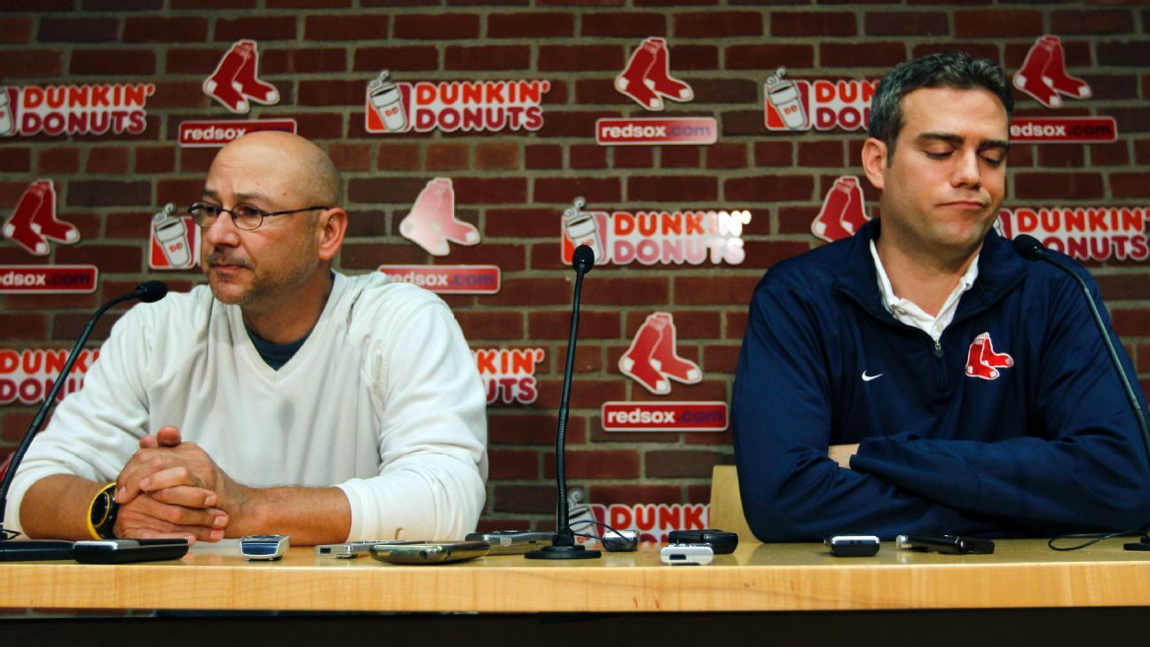 for five former boston red sox collapse led them to 2016