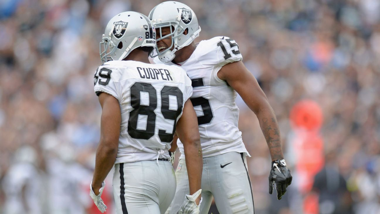 bcb35e91d Can Raiders make do at receiver with Michael Crabtree