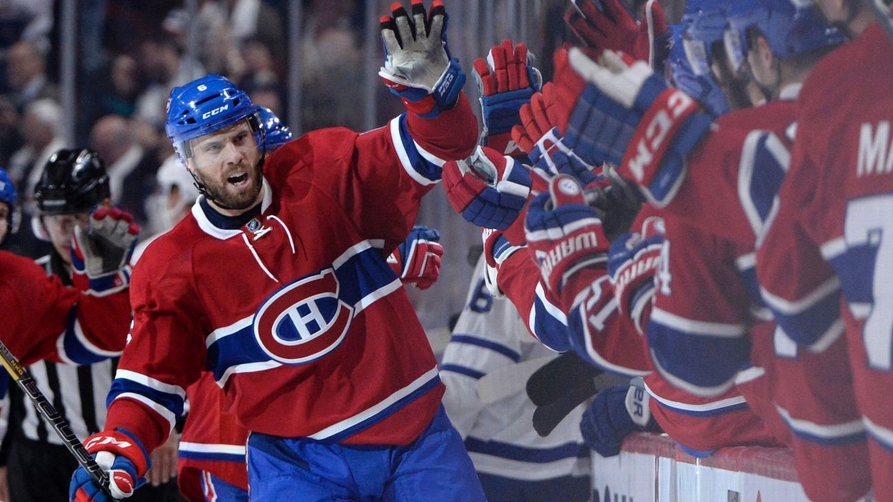 Canadiens say Weber to be sidelined 4-6 weeks