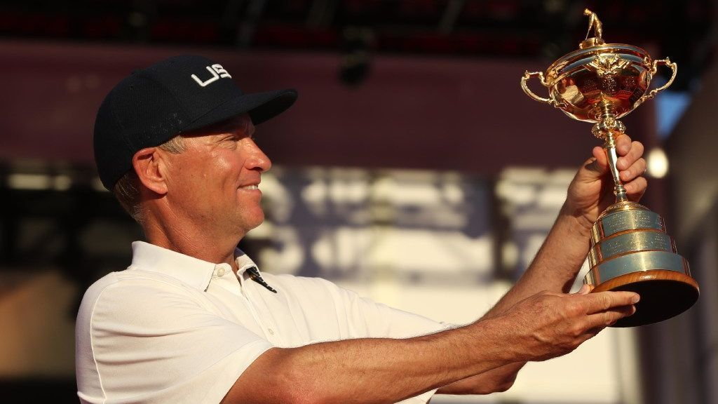 Weeks removed from Ryder Cup, Love reflects on U.S. victory