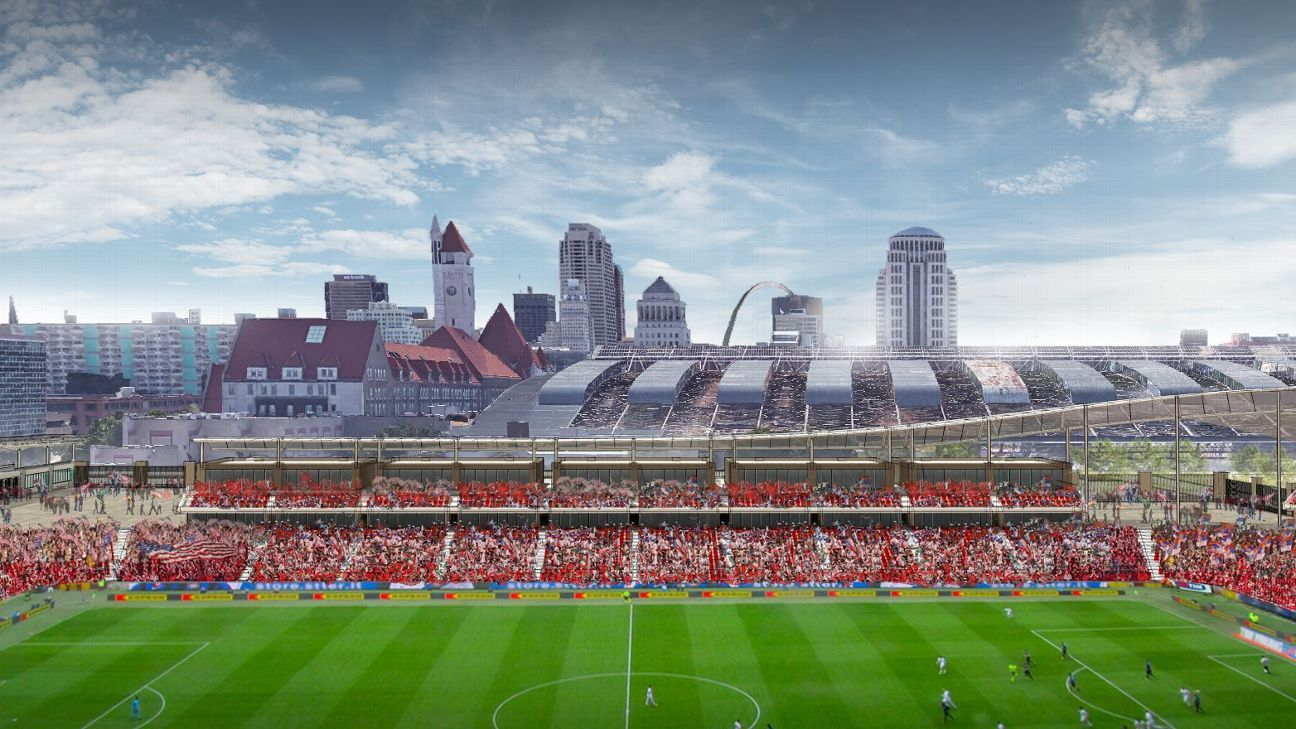 MLS expands to St. Louis; team to start in 2022