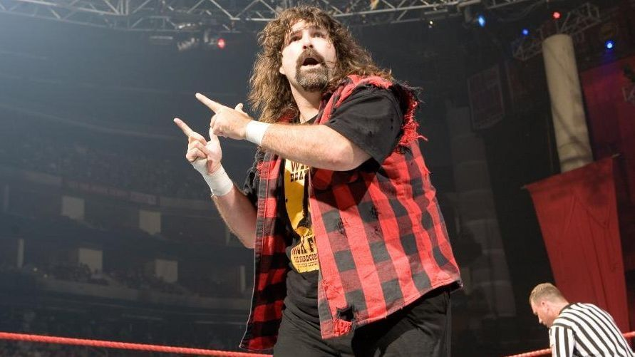 WWE - Mick Foley couldn't handle the mask of Mankind