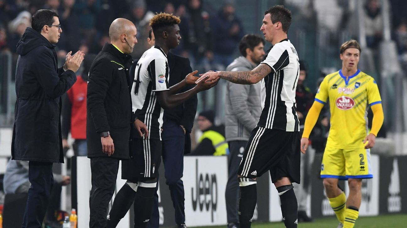 Juventus Moise Kean Becomes First Player In Serie A Born In 2000
