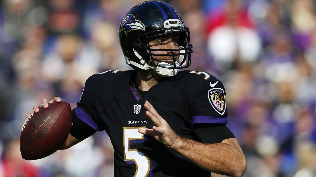 Baltimore Ravens aren t looking to find Joe Flacco s heir apparent - Baltimore  Ravens Blog- ESPN 8cfd22783