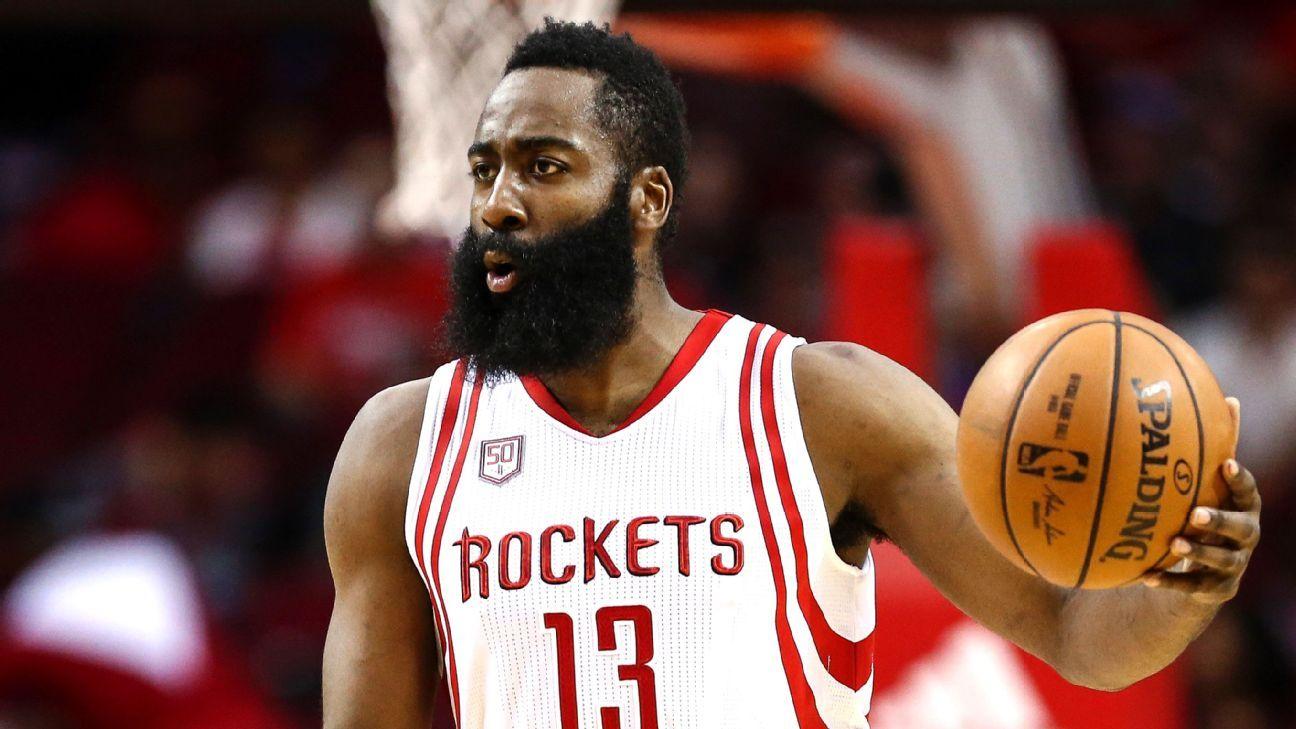 e9cafe5a674 James Harden ties Hakeem Olajuwon in triple-doubles for Rockets - Houston  Rockets Blog- ESPN