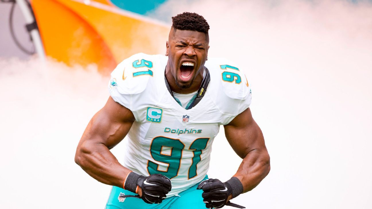 Cameron Wake Signs Two Year Contract Extension With Miami Dolphins