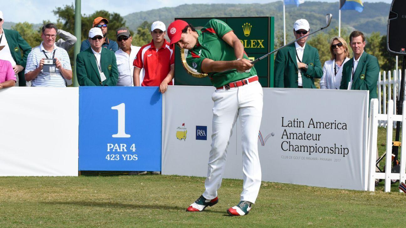 Alvaro Ortiz wins Latin America Amateur, heads to Masters