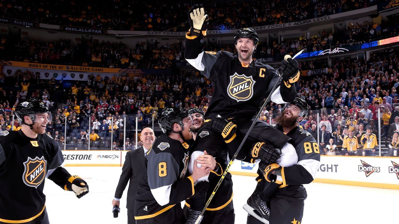 fa188e8435be4 NHL - 2016 All-Star Game MVP John Scott enjoying retirement by being an  everyday dad to his four daughters
