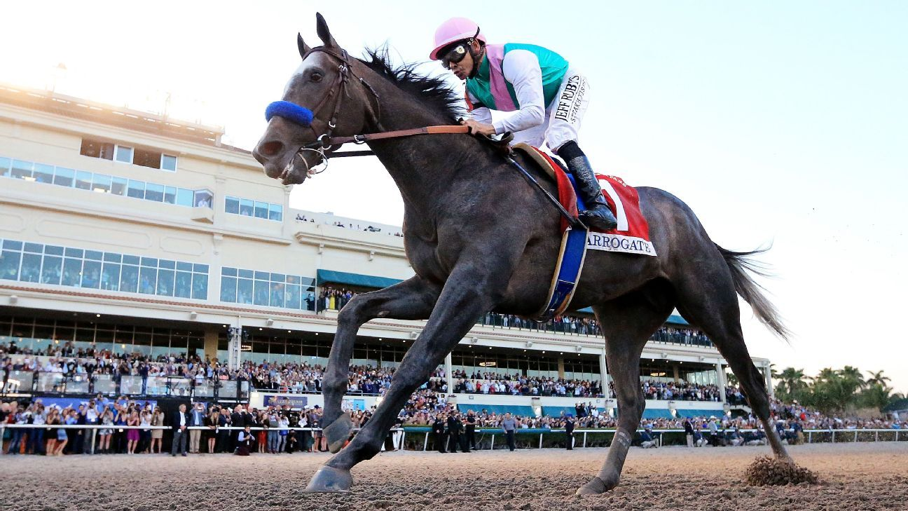 Arrogate Comes From Last To Win 10m Dubai World Cup Easily
