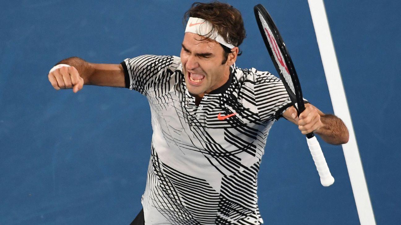 b29a0357 Roger Federer defeats Rafael Nadal to win Australian Open title
