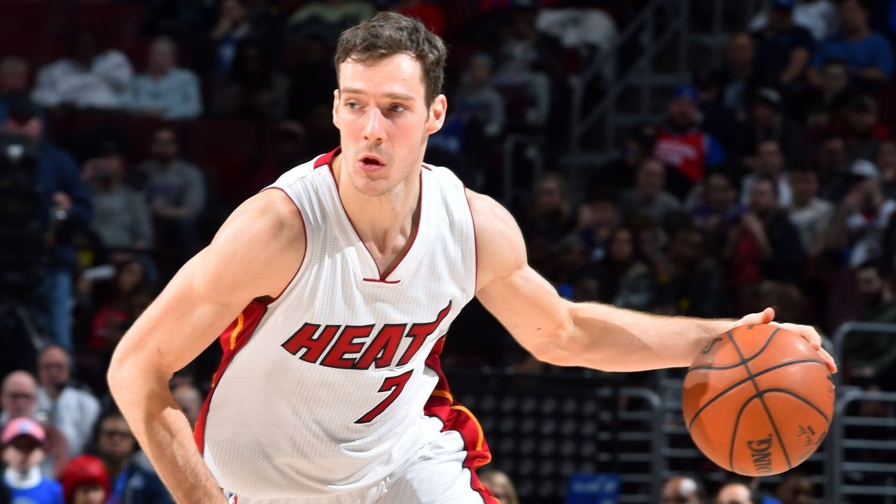 2d34bfeae Goran Dragic of Miami Heat replaces injured Kevin Love as All-Star
