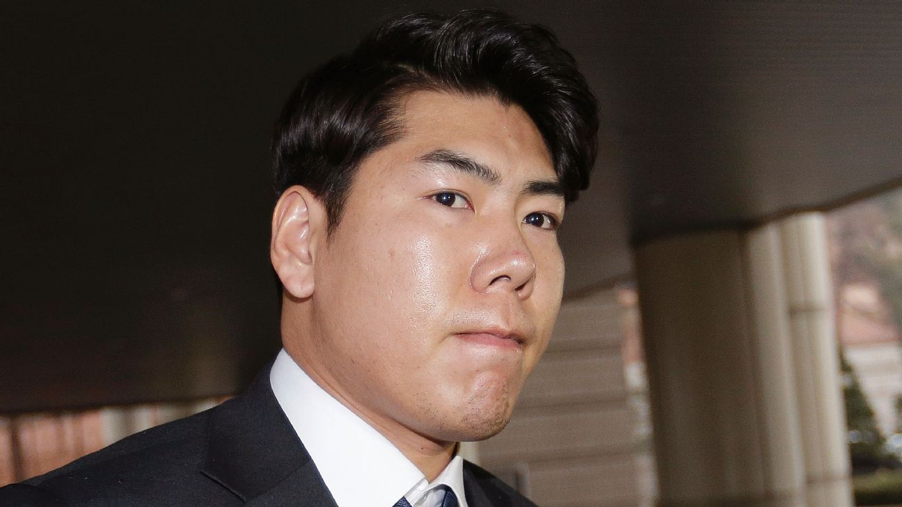 Ex-Pirate Kang suspended by KBO for past DUIs